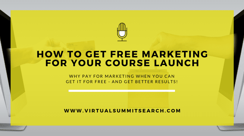 How to Get Free Marketing for Your Course Launch